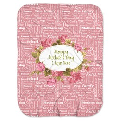 Mother's Day Baby Swaddling Blanket