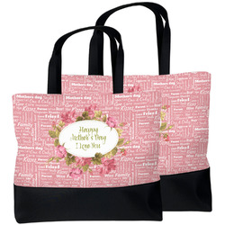 Mother's Day Beach Tote Bag