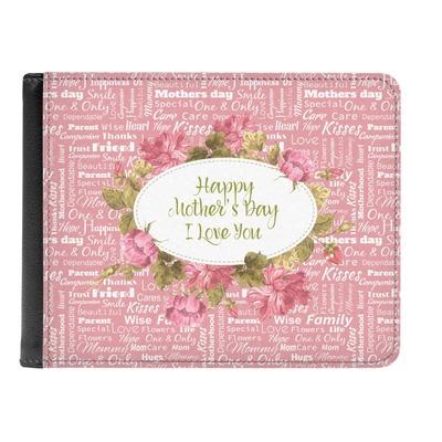 Mother's Day Genuine Leather Men's Bi-fold Wallet