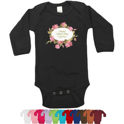 Mother's Day Bodysuit - Black