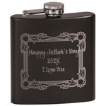Mother's Day Black Flask Set