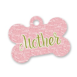 Mother's Day Bone Shaped Dog Tag
