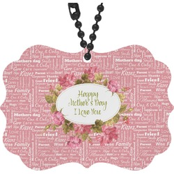 Mother's Day Rear View Mirror Decor