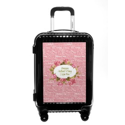 Mother's Day Carry On Hard Shell Suitcase