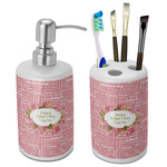 Mother's Day Bathroom Accessories Set (Ceramic)