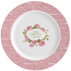 Mother's Day Ceramic Dinner Plates (Set of 4)