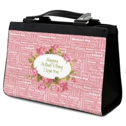 Mother's Day Classic Tote Purse w/ Leather Trim