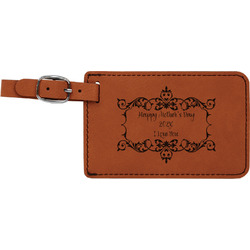 Mother's Day Leatherette Luggage Tag