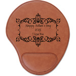Mother's Day Leatherette Mouse Pad with Wrist Support