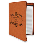 Mother's Day Leatherette Zipper Portfolio with Notepad