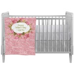 Mother's Day Crib Comforter / Quilt