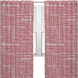 Mother's Day Curtains (2 Panels Per Set)