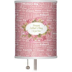 """Mother's Day 7"""" Drum Lamp Shade"""