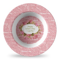 Mother's Day Plastic Bowl - Microwave Safe - Composite Polymer