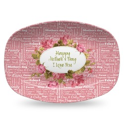 Mother's Day Plastic Platter - Microwave & Oven Safe Composite Polymer