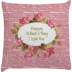 Mother's Day Decorative Pillow Case
