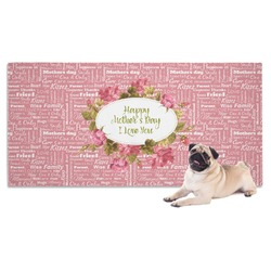 Mother's Day Dog Towel