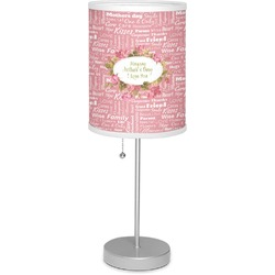 "Mother's Day 7"" Drum Lamp with Shade"