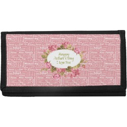 Mother's Day Canvas Checkbook Cover