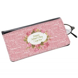 Mother's Day Genuine Leather Eyeglass Case