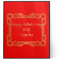 Mother's Day 8x10 Foil Wall Art - Red