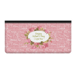 Mother's Day Genuine Leather Checkbook Cover