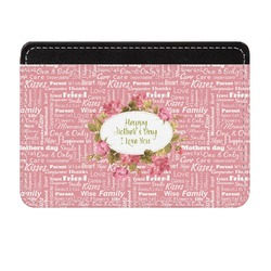Mother's Day Genuine Leather Front Pocket Wallet