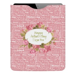 Mother's Day Genuine Leather iPad Sleeve