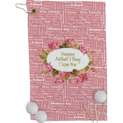 Mother's Day Golf Towel - Full Print