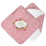 Mother's Day Hooded Baby Towel