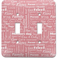 Mother's Day Light Switch Cover (2 Toggle Plate)