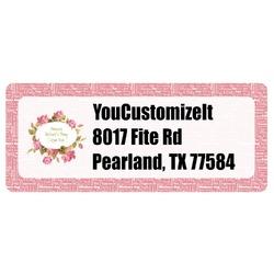Mother's Day Return Address Labels
