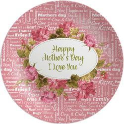 """Mother's Day Melamine Plate - 8"""""""