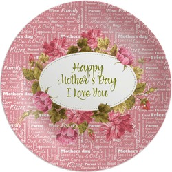 Mother's Day Melamine Plate