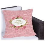 Mother's Day Outdoor Pillow