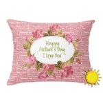 Mother's Day Outdoor Throw Pillow (Rectangular)
