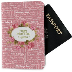 Mother's Day Passport Holder - Fabric