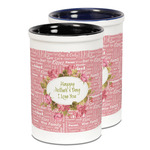 Mother's Day Ceramic Pencil Holder - Large
