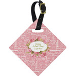 Mother's Day Diamond Luggage Tag