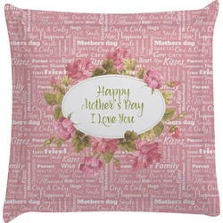 Mother's Day Euro Sham Pillow Case