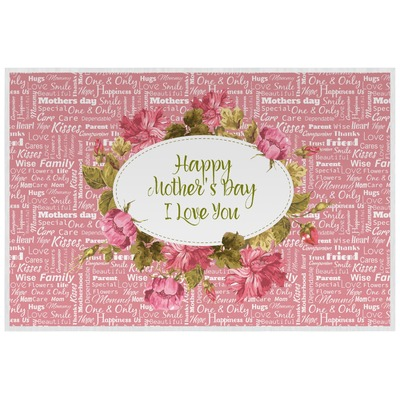 Mother's Day Laminated Placemat