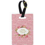 Mother's Day Rectangular Luggage Tag