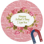 Mother's Day Round Magnet
