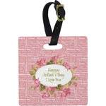 Mother's Day Square Luggage Tag