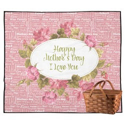 Mother's Day Outdoor Picnic Blanket
