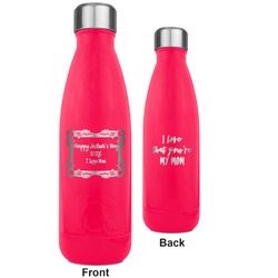Mother's Day RTIC Bottle - 17 oz. Pink - Engraved Front & Back