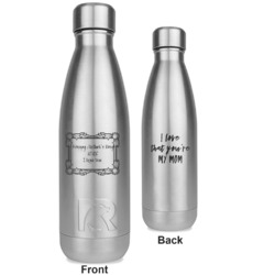 Mother's Day RTIC Bottle - Silver - Engraved Front & Back