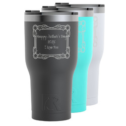 Mother's Day RTIC Tumbler - Black