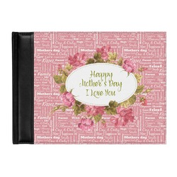 Mother's Day Genuine Leather Guest Book