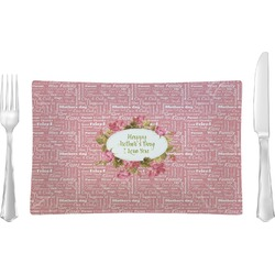 Mother's Day Rectangular Dinner Plate